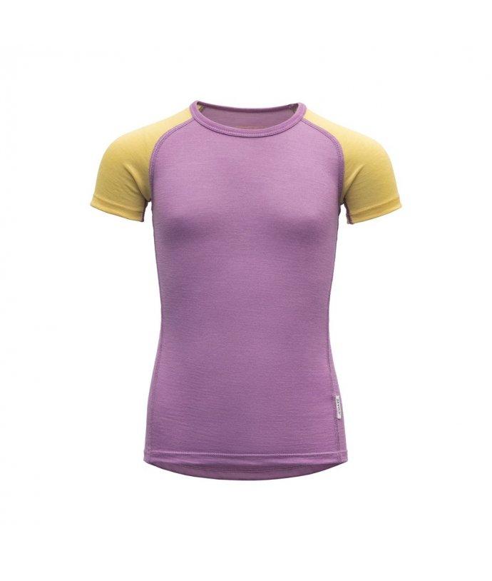 Dětské tričko skrátkým rukávem Devold Breeze