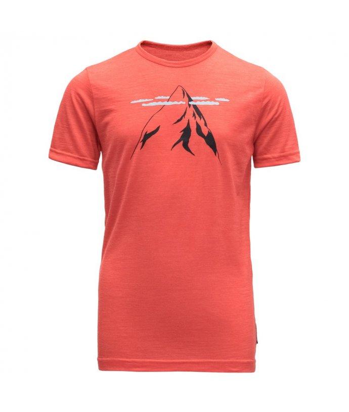 Dětské vlněné tričko s krátkým rukávem Nipa