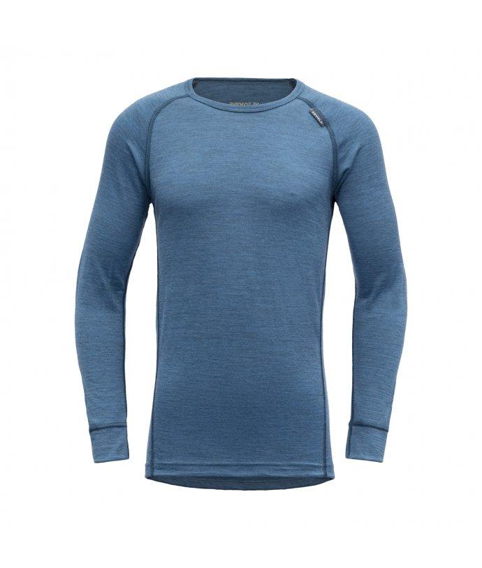 Juniorské super lehké pohodlné vlněné tričko Devold Breeze