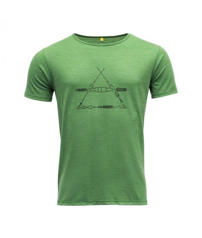 Vlněné tričko s krátkým rukávem Devold Vasset