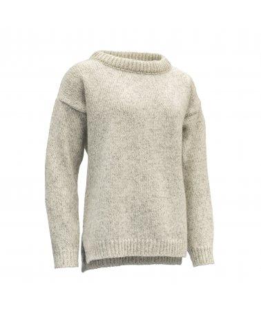 Velmi teplý vlněný svetr volnějšího střihu Devold Nansen