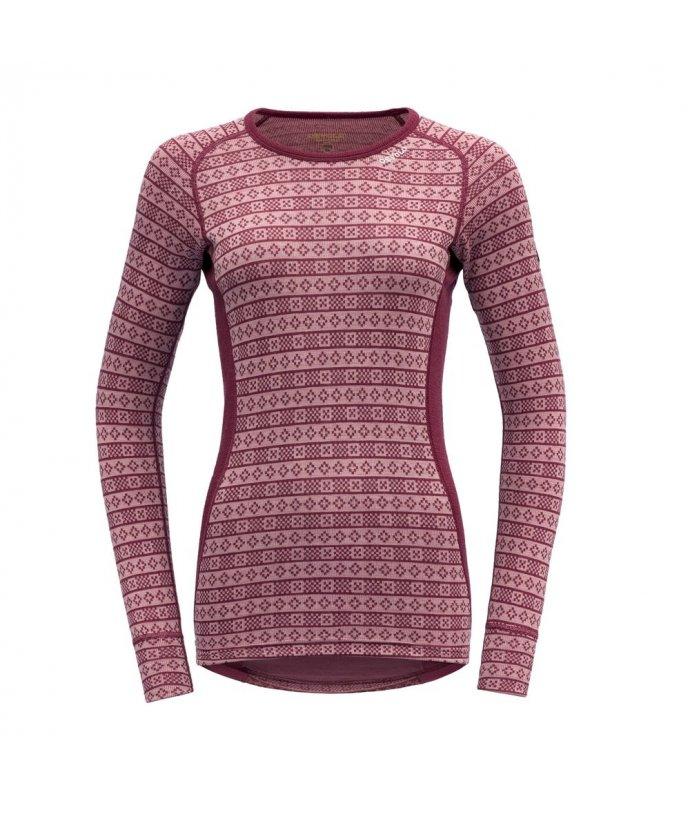 Dámské hřejivé stylové vlněné triko Devold Alnes