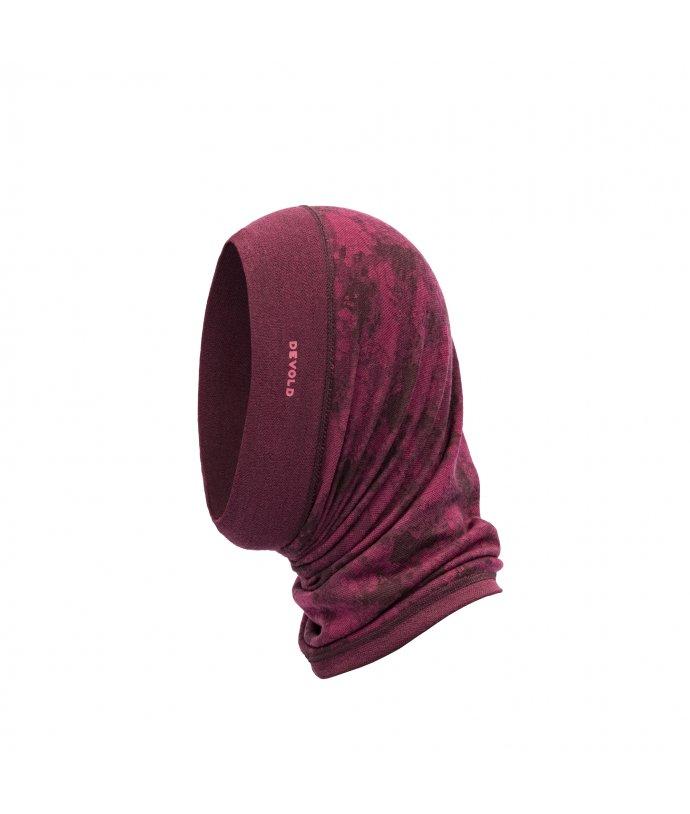 Oboustranný multifunkční šátek Devold Kvitegga