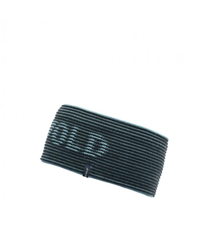 Moderní vlněná čelenka Devold Rib Logo